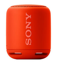 Sony SRSXB10 Portable Bluetooth Speaker - Red