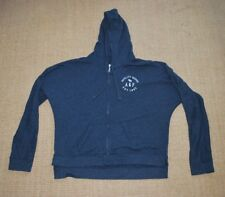 Abercrombie and Fitch Womens Large Navy Zip Up Hoodie Soft C
