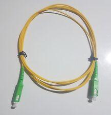 cordon fibre optique SC-APC 2 mètres