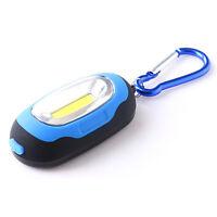 Waterproof Key Chain Flashlight Torch LED Light Up Lamp Camping Lantern 3 Modes