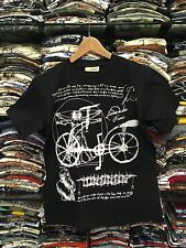 "T-shirt Unisex Leonardo Da Vinci ""Uomo Vitruviano & Bicicletta"""