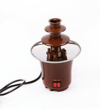 Chocolate Fountains 3 Mini Layers Fondue Waterfall Machine Party Birthdays Gifts