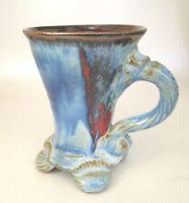 Stoneware Tea Coffee Mug AI Funky Handmade Steve Woodhead Ceramics