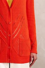 NWT Anthropologie Elin Cardigan by Moth, Red - XXS, XS; Neutral - M, XL, Sweater