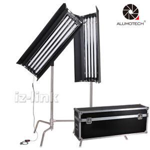 400W 2600~6000K Dimming Pro Kino DMX C-Stands No Need Ballast+Case Studio Light