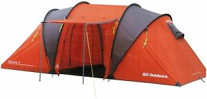 GO Outdoor 2 room family tent (suitable for 4 persons) Havana 4, 9921-0001-0201