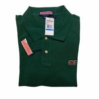 NEW Vineyard Vines Shirt Mens XL Classic Pique Polo Football Whale Monogram