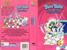 VHS CARTOON WARNER BROS-TINY TUNES ADVENTURES/BUSTER BUNNY,BABY,DUCA DUCK looney