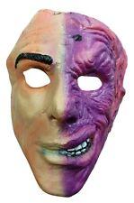 Two Face Harvey Dent Villain Batman Adult 1/2 Mask Costume Accessory Licensed