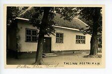 Tallinn Estonia RPPC Peetri Maia Antique Photo Postcard PETER THE GREAT 1910s