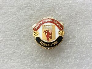 Manchester United F.C. City Of Derry Badge