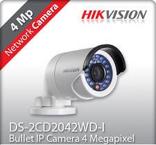 Hikvision Videocamera IP Esterni/Interni 4MP HD POE IR DS-2CD2042WD-I