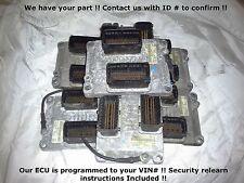 04 05 06 07 GM V6 Engine Computer 12592124 12581144 19260507 Programmed ECM PCM