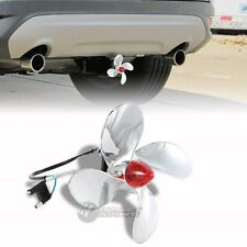 "Bully Hitch Cover 1.25"" & 2"" Propeller LED Trailer Receiver with Brake Lights"