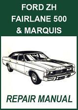 FORD FAIRLANE ZH Series 1976-1979 REPAIR MANUAL