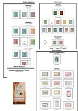 Print a British Honduras Stamp Album, fully illustrated and annotated