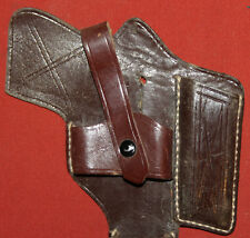 Vintage Leather Small Pistol Gun Holster