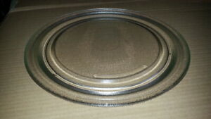 "SHARP MICROWAVE GLASS TURNTABLE TRAY PLATE 11-1/2"" A094 Very Nice Condition"