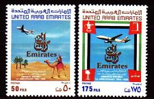 UAE 1986 ** Mi.205/06 Luftverkehrsgesellschaft Luftfahrt Flugzeuge Aeroplanes