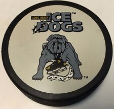 1998-2000 Long Beach Ice Dogs Game Used Hockey Puck IHL