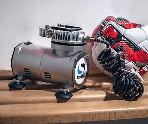 Sondico Electric Compressor Pump - Football, Netball, Rugby, Sport Ball Pump