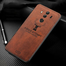 For Huawei Mate 20 Lite 10 9 8 Hybrid Soft TPU Leather Case Shockproof Cover