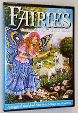 SHIRLEY BARBER'S FAIRIES The Seventh Unicorn And Other Stories DVD + Stickers