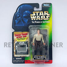STAR WARS Kenner Hasbro Action Figure - POTF POTF2 - Han Solo in Carbonite Frame