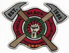 """Houston Black Firefighter Assn., Texas (4.5"""" x 3.5"""" size) fire patch"""