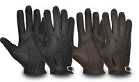 LEATHER SOFT LUXURY SKIN FIT DRIVING GLOVES TOP QUALITY CHAUFFEUR BIKER