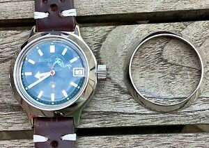 Vostok Polished Clean Bezel Stainless Steel. Free U.K. First Class Post