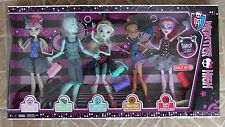 Dance Class Monster High 5 Doll Pack Set Gil Webber Lagoona Operetta Target