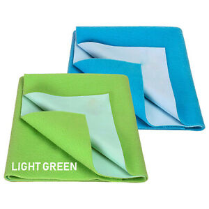 Water Resistant Bed Protector Baby Dry Sheet pack of 2