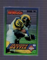 1994 COLLECTOR'S EDGE BOSS SQUAD JEROME BETTIS RAMS #14 INSERT Notre Dame
