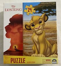 Lion King Puzzle - Simba Lion Cub - 24pc Disney Jigsaw - 26cm X 23cm - Brand New