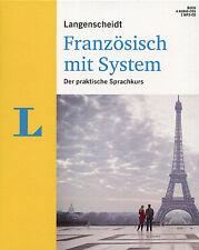 Langenscheidt Sprachkurs Französisch mit System - Buch + 4 Audio CDs + 1 MP3 CD