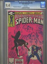 Spectacular Spider-Man #55 Cgc 9.4 (1981) Nitro Frank Miller Cover