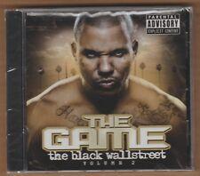 "the GAME cd ""Black Wallstreet Volume 2"" 101 Distribution 2008 NEW Sealed RAP"