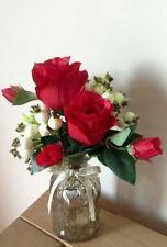 Handmade Faux Silk Dried & Artificial Flowers