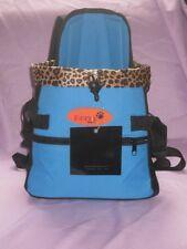 Pet Carrier Soft Sided medium   Cat / Dog Comfort blue  Travel Bag