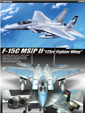"ACADEMY #12506 1/72 Plastic Model Kit F-15C MSIP II ""173rd Fighter Wing"""