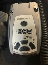 Beltronics Vector 995 Radar / Laser Detector Pre-owned