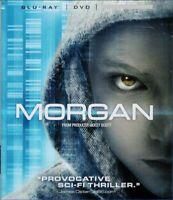 Morgan Blu Ray DVD Movie 2016 Ridley Scott Luke Kate Mara [GS 2-7]