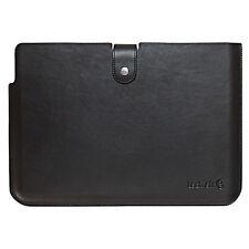 TAUBSL001- Techair UltraBook - 13.3'' Premium Leather Notebook Sleeve - Black