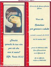 2046 SANTINO HOLY CARD MADONNA BEATA VERGINE MARIA SERVOLA TRIESTE