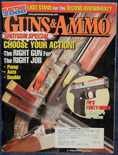 Magazine GUNS & AMMO November 2000 !!! BROWNING Gold Deer Hunter SHOTGUN !!!