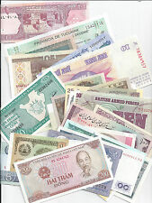 100 DIFFERENT UNCIRCULATED WORLD BANKNOTES