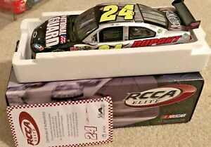 #24 JEFF GORDON NATIONAL GUARD / DUPONT 2010 RCCA ELITE 1/24 LIMITED TO 424 NEW