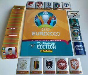 Panini Euro EM 2020/2021 Tournament Edition - 50 Sticker aus allen 678 aussuchen