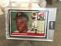 Topps PROJECT 2020 Pirates Roberto Clemente ARTWORK By Joshua Vides  IN HAND *